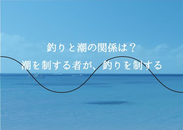 海釣りは潮・潮汐で制する!釣れる潮とは?潮の見方公開