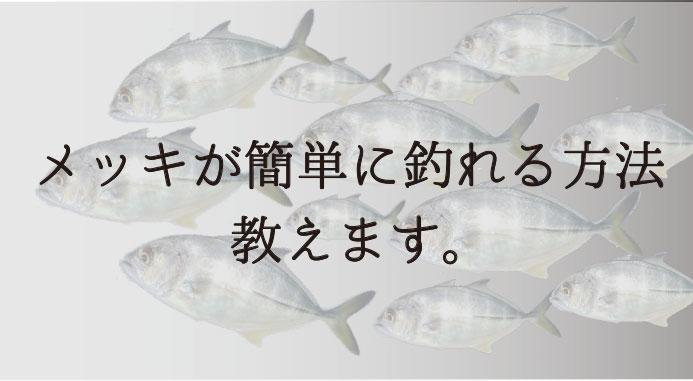 メッキのルアーによる釣り方は?適したロッド、ルアーアクションも公開