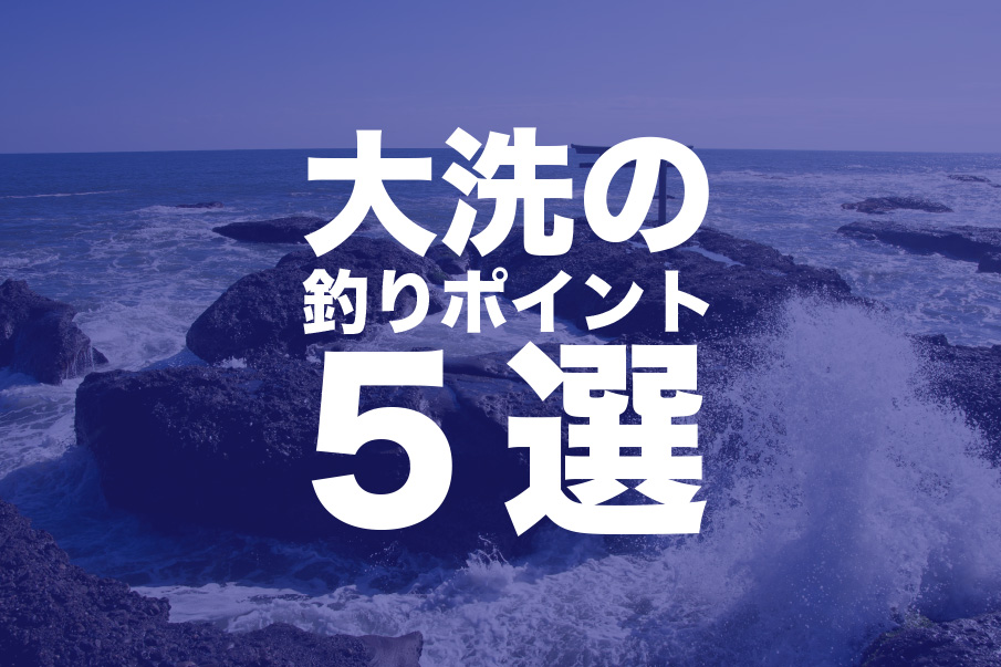 大洗の釣り情報&おすすめスポット5選!